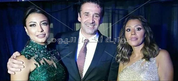 نجوم الفن فى حفل زفاف احمد فهمى وهنا الزاهد 2