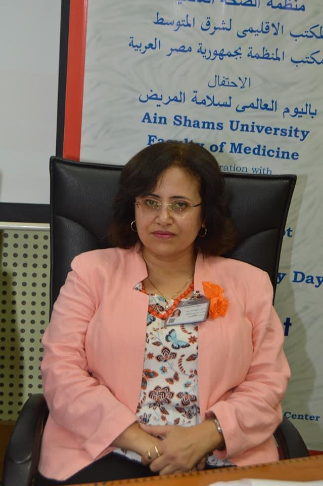 فاعليات اليوم العالمي الأول لسلامة المريض بطب عين شمس