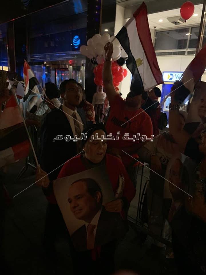الجاليات المصرية فى أمريكا