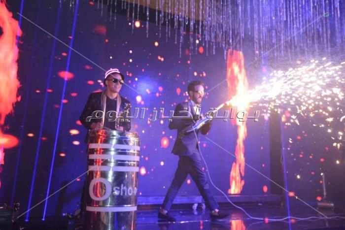 نجوم الفن والرياضة يحتفلون بزفاف هاني رمزي