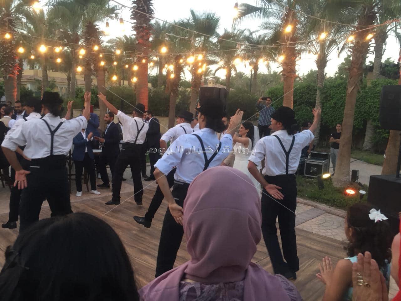 """حفل زفاف """" نور ومحمد """" في ليلة 6 أكتوبر بالقاهرة الجديدة"""