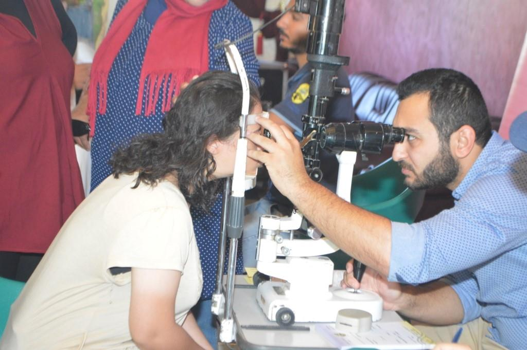 """أنطلاق حملة """"عيون لاعبينا تهمنا"""" للاعبي الأولمبياد الخاص بالأسكندرية"""