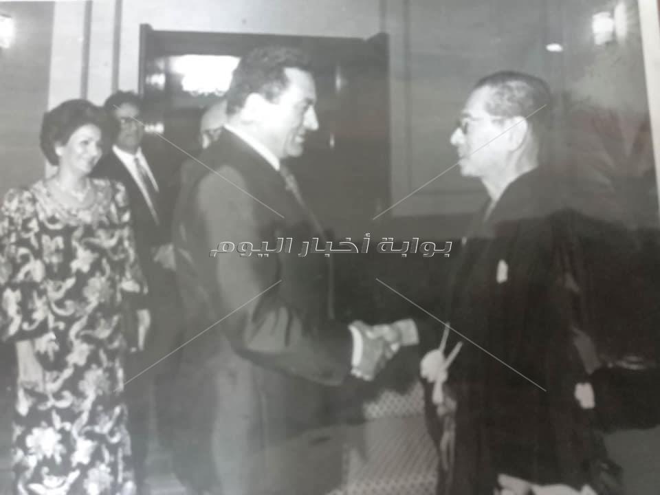صور نادرة لافتتاح دار الأوبرا المصرية