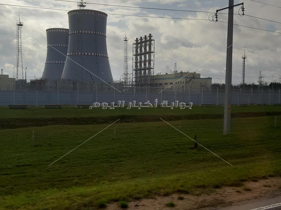 افتتاح محطة اوستروفتس النووية بيلاروسيا يناير 2020