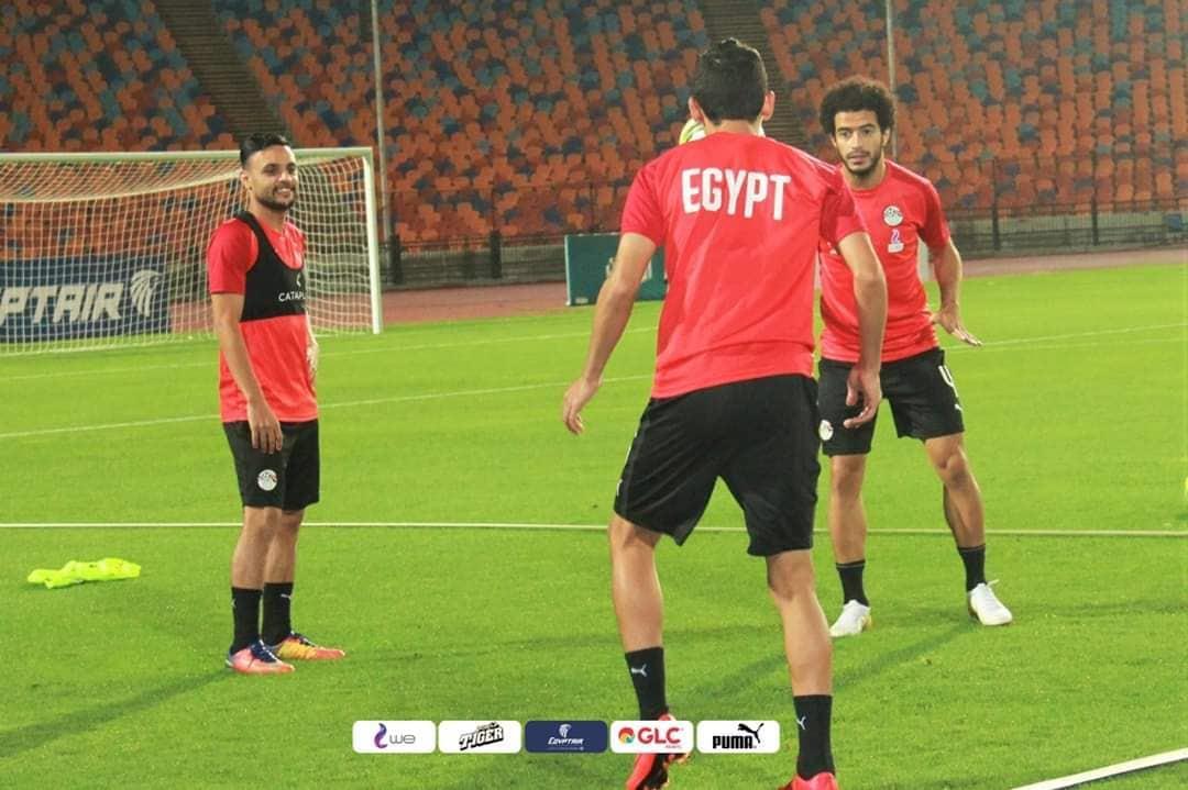 تدريبات منتخب مصر تحت قيادة البدري
