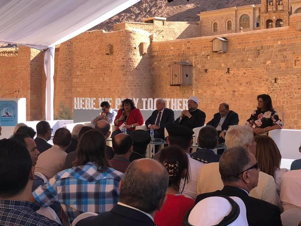 وزير الشباب يدعو وسائل الاعلام والشباب لنشر صورهم وانطباعاتهم عن سانت كاترين للعالم