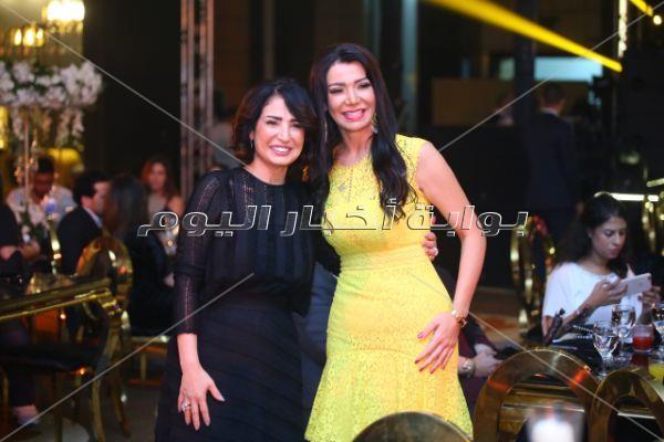 80 صورة للنجوم بحفل نانسي عجرم والعسيلي في «القاهرة الجديدة»