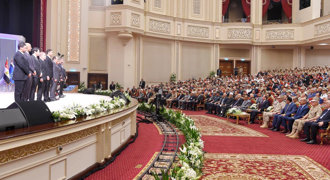 مشاركة الرئيس السيسي في الندوة التثقيفية للقوات المسلحة