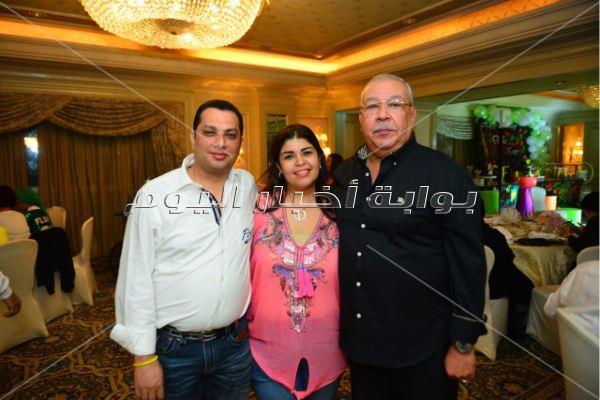 كاريكا وهدى وشحتة في عيد ميلاد أحفاد سمير صبري