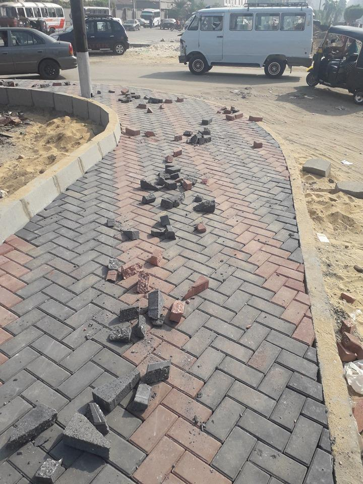 حل الأزمة المرورية والتكدسات بكوبري عرابي والمنطقة المحيطة