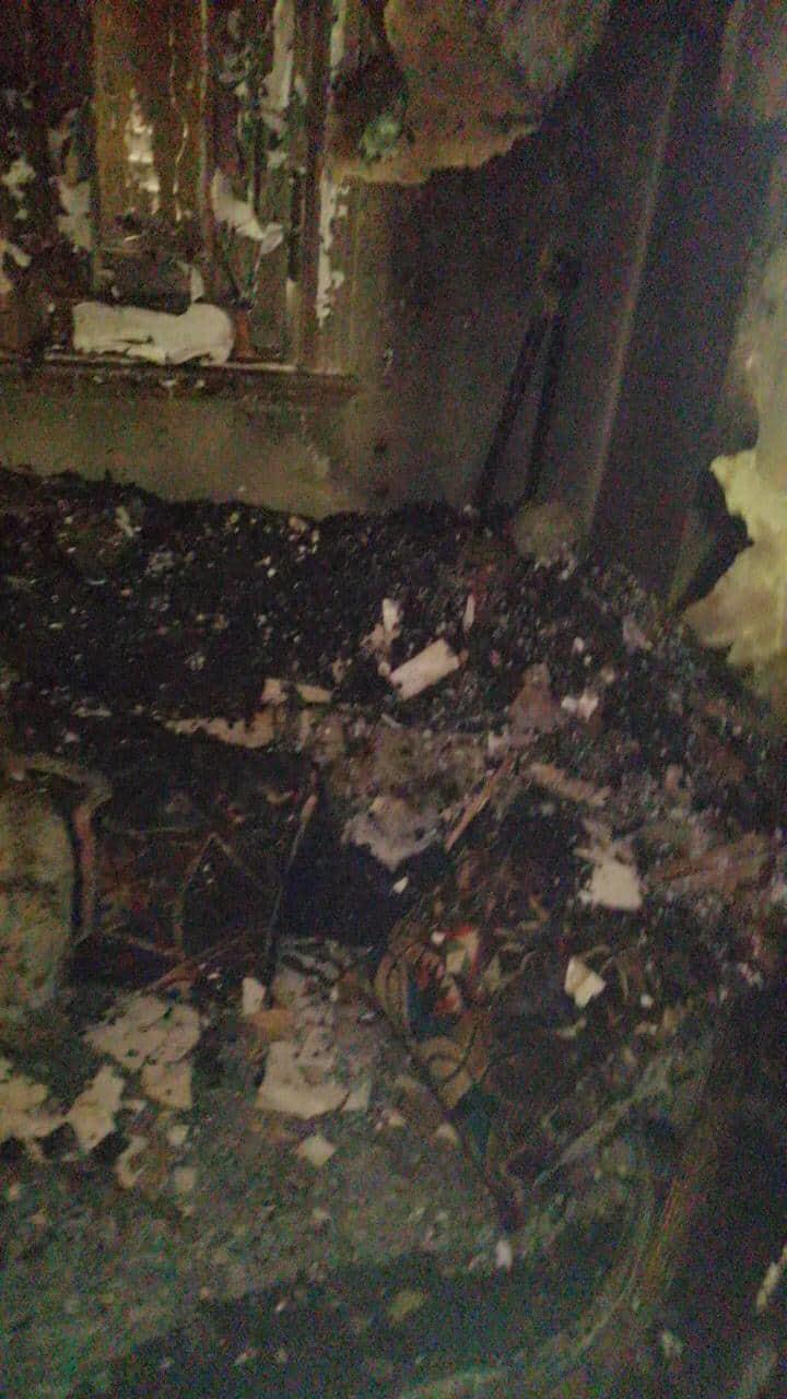 السيطرة على حريق شقة سكنية بالجيزة