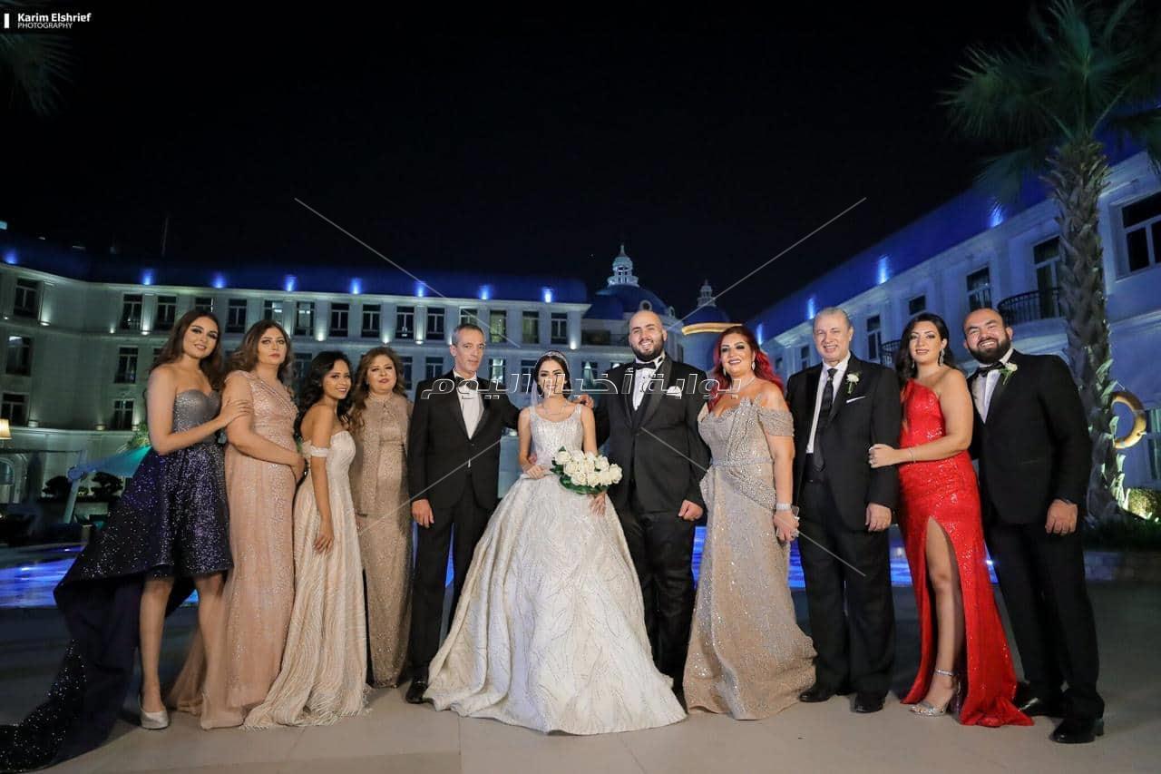 مهرجان النجوم في زفاف «عمر ورانيا