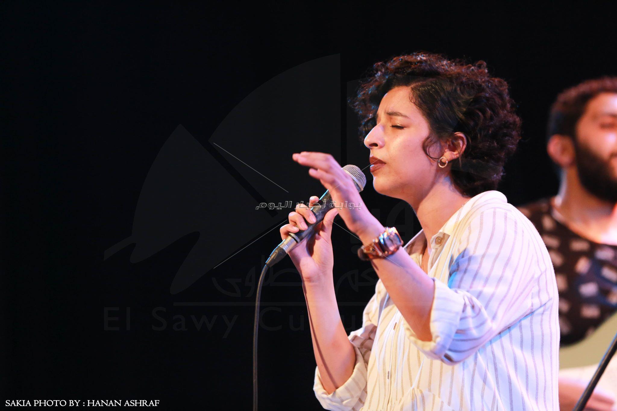 شيري ممدوح تقدم «Amy Winehouse» فى ساقية الصاوي