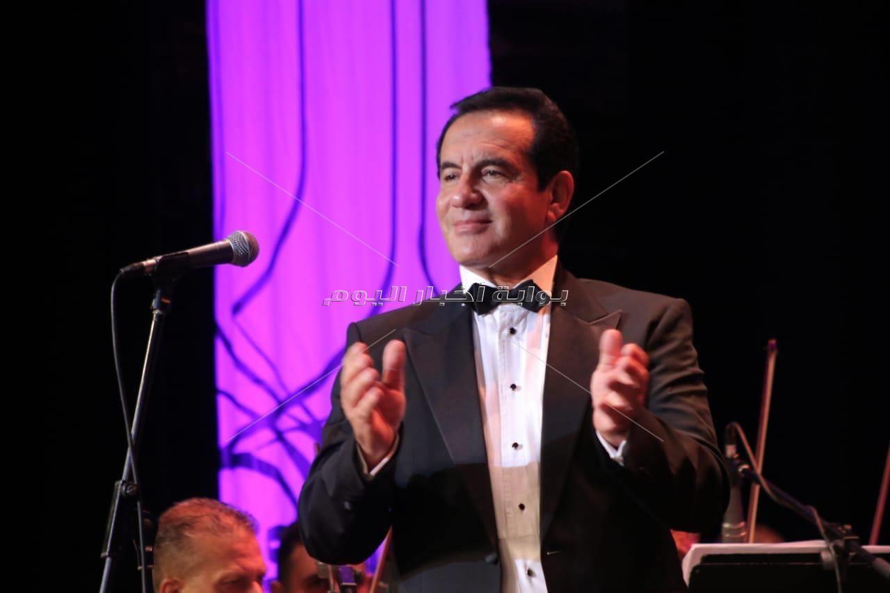 حوار الطرب بين مصر ولبنان في مهرجان الموسيقى العربية الـ28