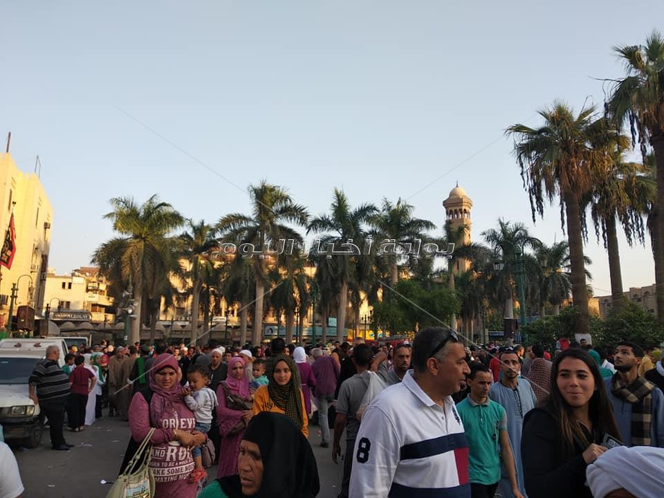 بحضور التهامي  احتفالية الصوفية بالمولد النبوي الشريف في الحسين
