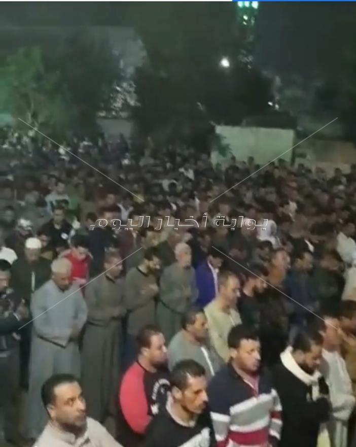 تشييع جثمان جثة الشاب الذي قفز من قطار اسكندرية