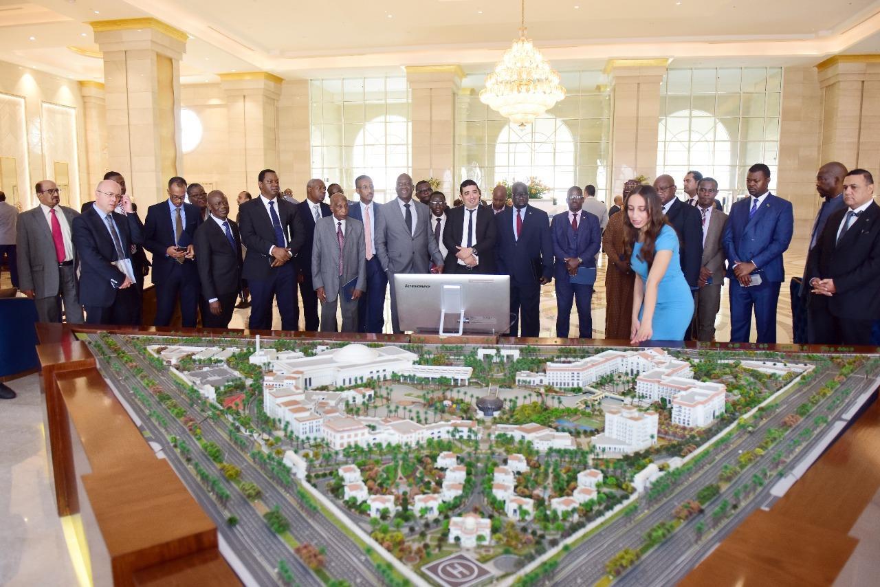 الاستثمار تنظم زيارة للسفراء الافارقة إلى العاصمة الإدارية الجديدة للتعرف على فرص الاستثمار بها