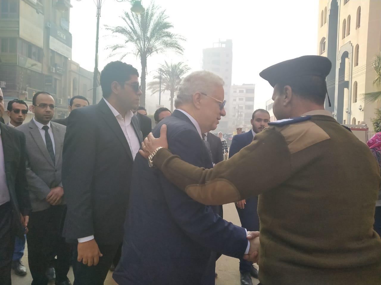 مرتضي منصور ينضم لهيئه الدفاع قضيه شهيد الشهامه