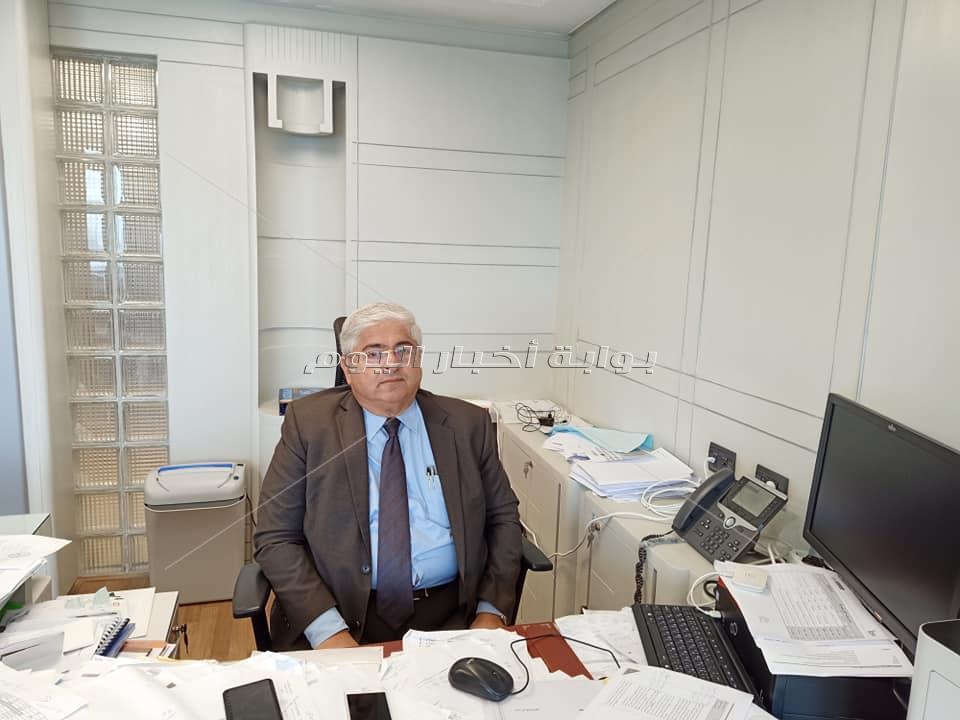 عبد المجيد محي الدين رئيس مجلس إدارة شركة الأهلي للصرافة