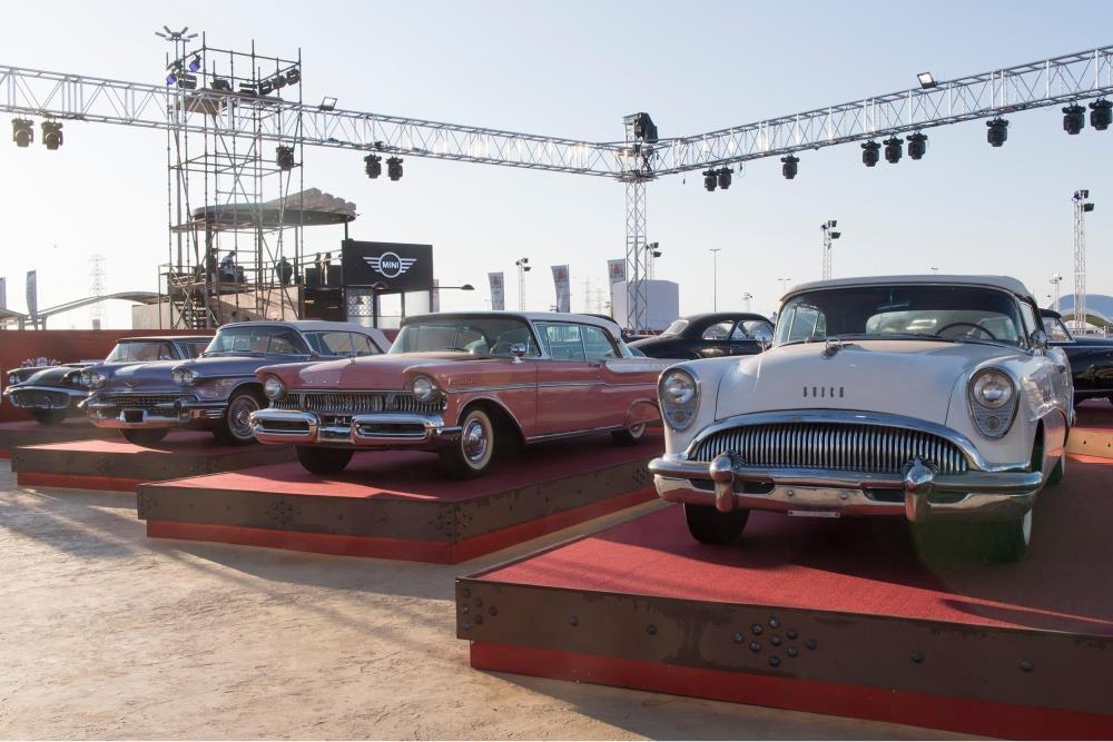 تألق جناح سيارات الكلاسيكية بمعرض الرياض للسيارات