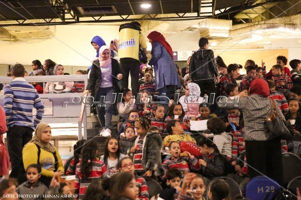 يوم جديد فى مهرجان الشوكولاتة بحضور أطفال المدارس