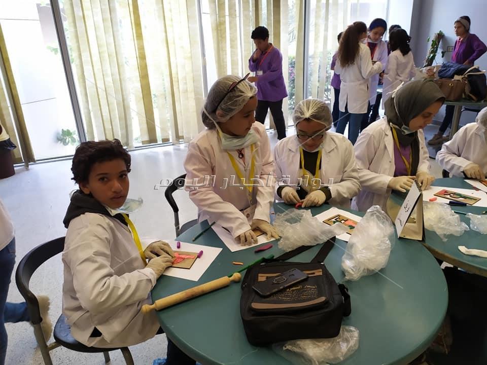 المتحف المصري الكبير» يستضيف طلاب المدارس لتنشيط للوعي الاثري لديهم