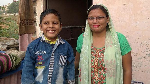 طفل هندي