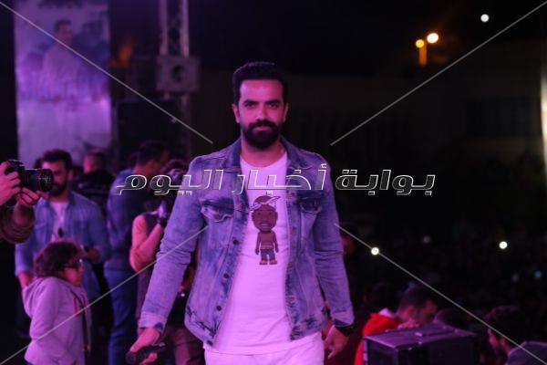 حماده هلال يتألق في جامعة المنصورة.. ومي سليم نجمة الحفل