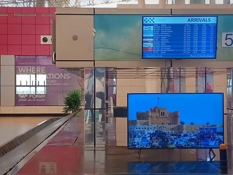 وزارة الطيران تستعد لاستقبال ضيوف مصر المشاركين في منتدى شباب العالم 2019