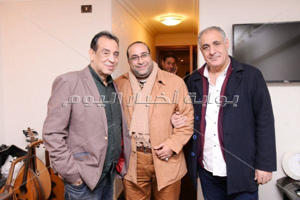 نجوم الغناء يحتفلون بعيد ميلاد الموسيقار صلاح الشرنوبي
