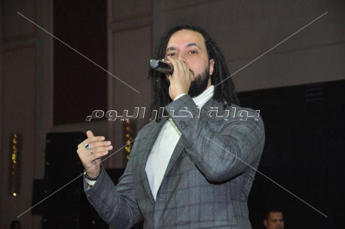 صور  الجريني نجم حفل مهرجان الأسبوع المصري لمستلزمات الزفاف