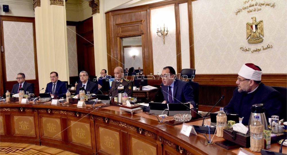 رئيس الوزراء يترأس اجتماع الحكومة الأسبوعي _ أشرف شحاتة