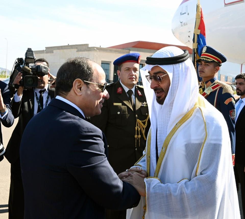 افتتاح الرئيس السيسي قاعدة برنيس العسكرية