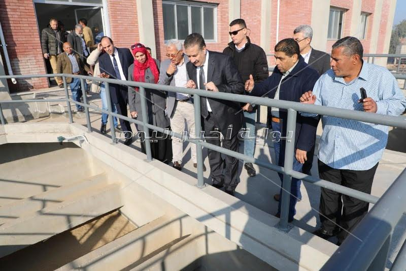 محافظ المنوفية : الإنتهاء من 36 مشروع بقطاع مياه الشرب والصرف الصحي بتكلفة مليار و317 مليون