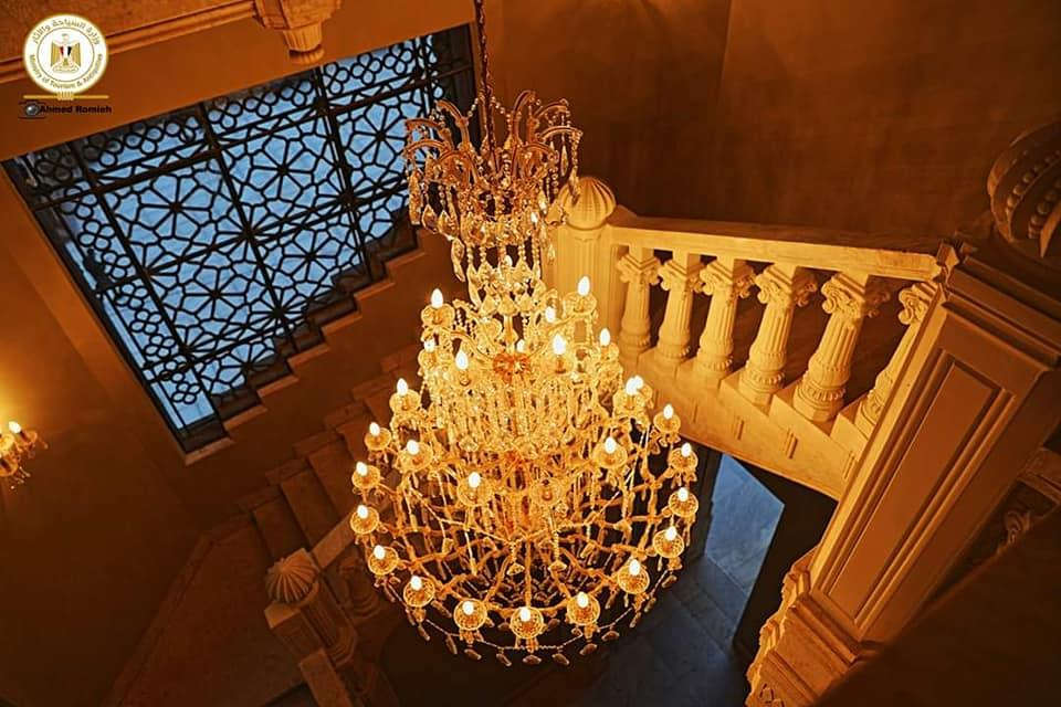 قبل افتتاحه.. ننشر أحدث صور لقصر البارون بعد ترميمه