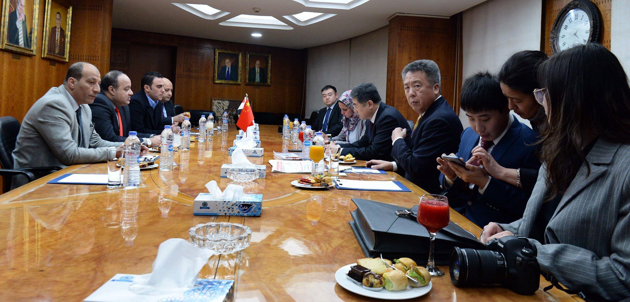 مذكرة تفاهم بين اخبار اليوم وجريدة النور الصينية للتعاون الاعلامى