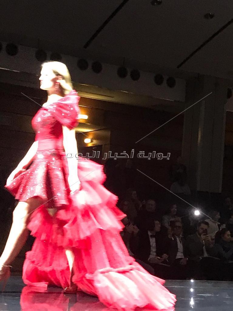 عروض أزياء مصريه في باريس