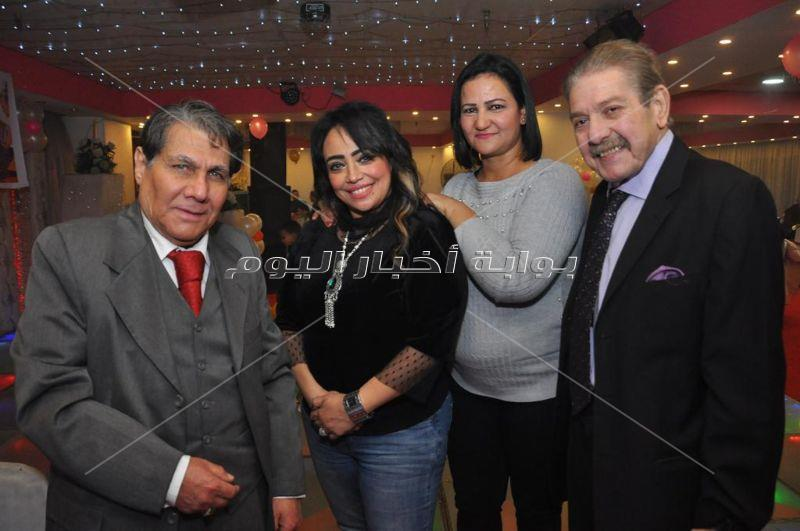 البدري وعمرو يسري وصوفيا يحتفلون بعيد ميلاد ابنة ندى عبد الله