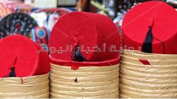 عماد صانع طرابيش البشوات يمتد عمر المحل لما يقرب 200 عام