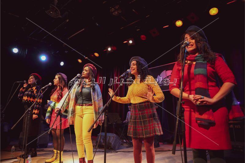 أغنيات «بهججة» تُشعل حماس الجمهور بمسرح «الساقية»