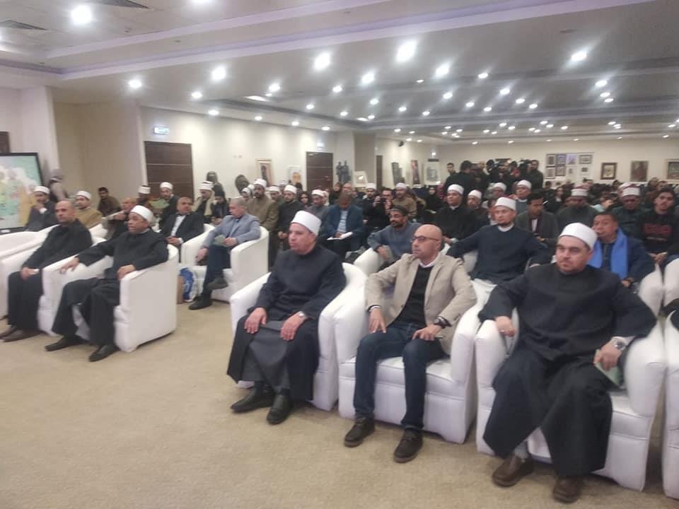 صور  الحاج علي يكرم وزير الأوقاف لاطلاق مشروع رؤية