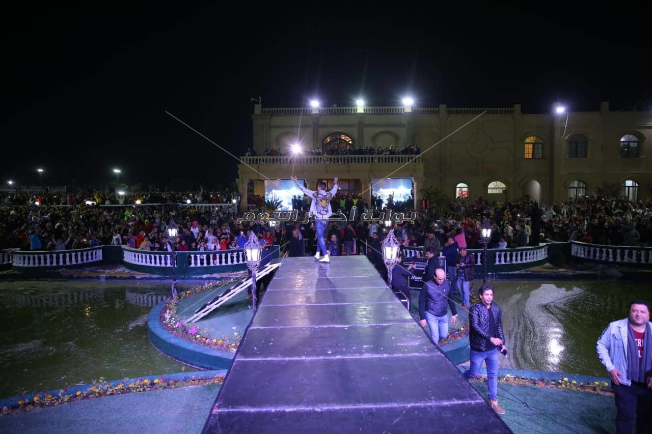 حسن شاكوش يُشعل حفل عيد الحب
