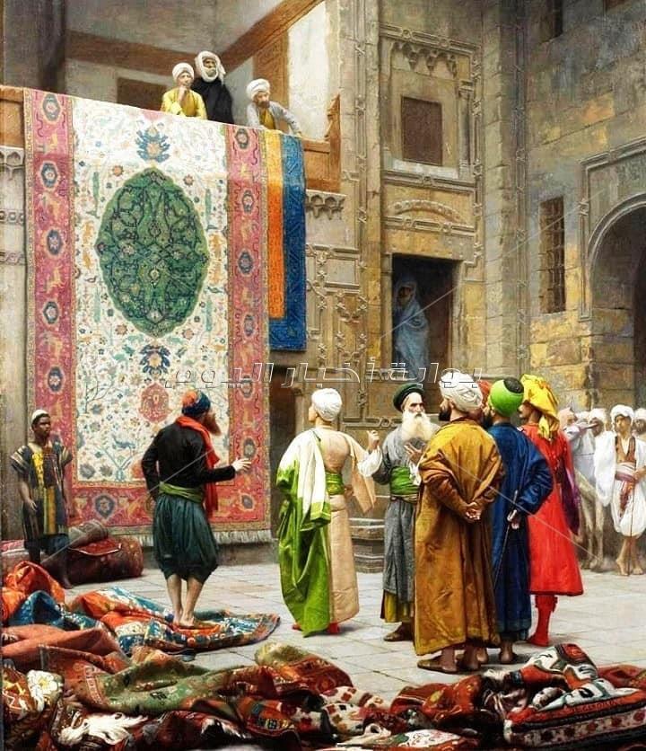 حكاية ملابس ملوك وأمراء الفراعنة ..تعرف علي ورش الخاصة في قصورهم