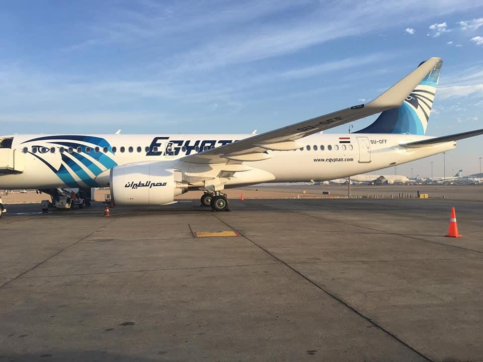 مصر للطيران تتسلم طائرتين جديدتين الْيَوْمَ من مصنع إيرباص A220 و A320 neo