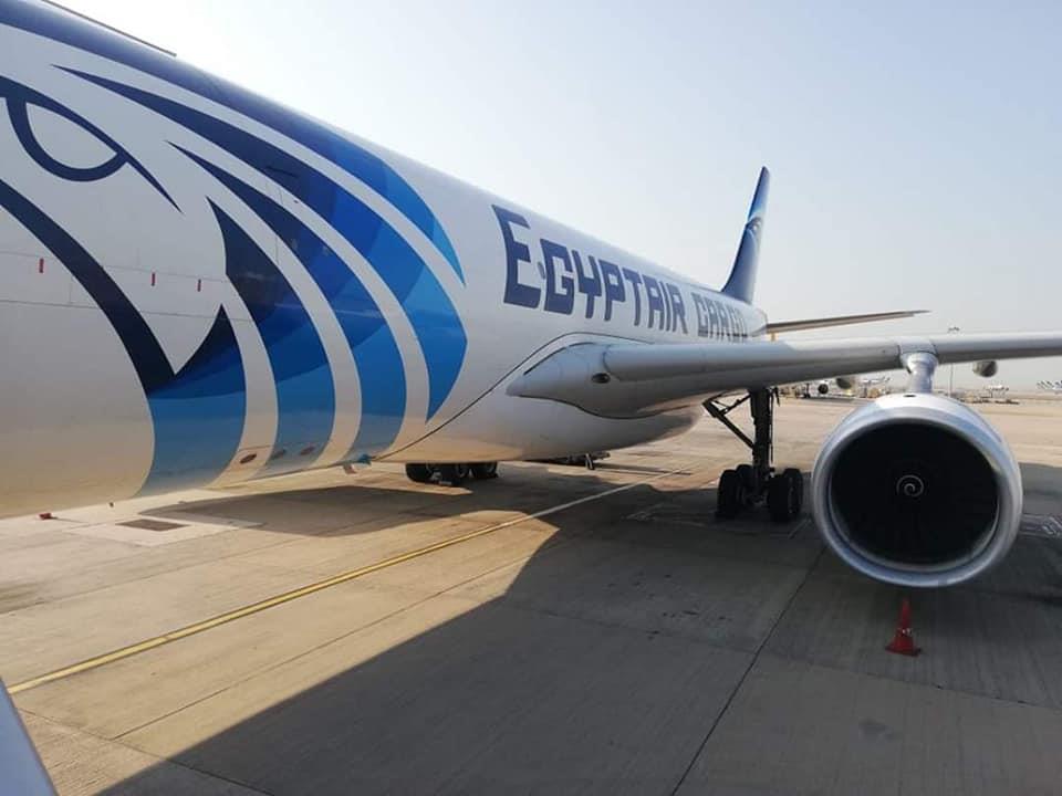 صور مطار بانكوك يحتفل باستقبال أول رحلة بضائع لشركة مصر للطيران للشحن الجوي