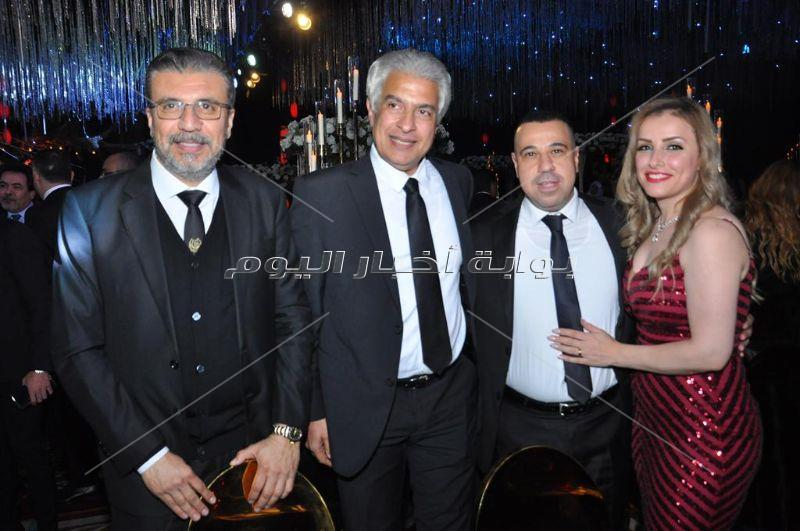 نجوم الرياضة والإعلام يحتفلون بزفاف ابنة مدحت شلبي