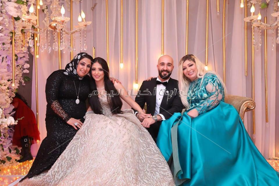 """حجازي متقال وسعد الصغير يشعلان خطوبة """"جنة وحسين """" بحضور صفوة المجتمع"""