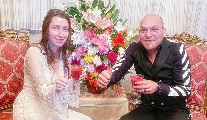 زفاف ياسر الحريري والأوكرانية داشا