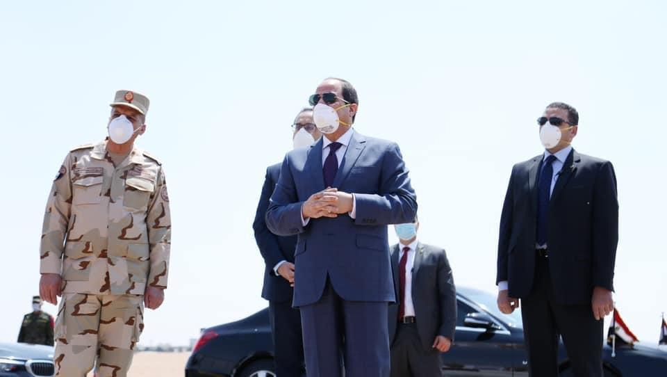 صور الرئيس السيسي اليوم