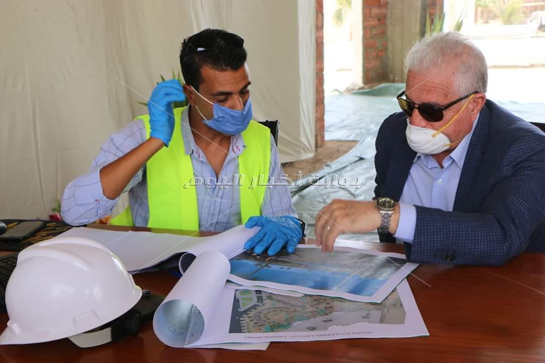 محافظ جنوب سيناء يتابع العمل في عدة مواقع لرفع كفاءة الفنادق واضافة منتج سياحي جديد بشرم الشيخ